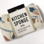 オーサムストアの水だけスポンジ『KITCHEN SPONGE 5PCS』がオシャレなデザイン!