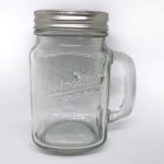 100均の『ドリンキング ジャー』がビンのボトルに蓋付きでオシャレ!