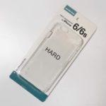 100均キャンドゥの『iPhone6/6s ケース ハード』が透明でピッタリ!