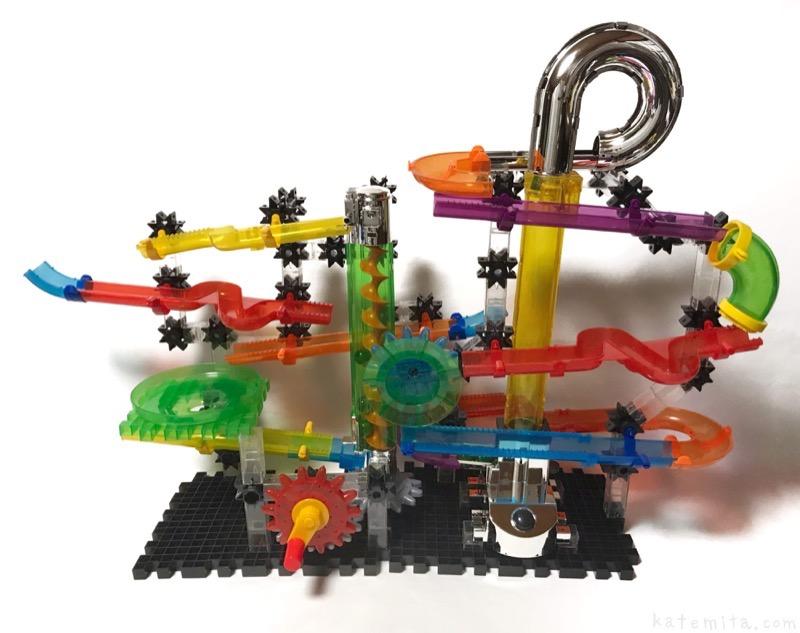 コストコでビー玉転がしの玩具『テクノギア マーブルマニア』が巨大で面白い! 買てみた