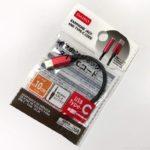 ダイソーの『イヤホンジャック +タイプCコード』変換ケーブルが100円と激安!