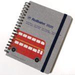 ロルバーンの手帳『ダイアリー2020』がノート部分もいっぱいで可愛い!