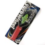 オーサムストアの不思議なコマ『LEDジャイロホイール』が金属の輪っかでグルグルすごい!