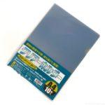 100均の『クリアホルダーA4 10枚 カラーアソートタイプ』が色んな色が入って便利!