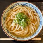 丸亀製麺の『かけうどん 大』がアプリのクーポンでお得!
