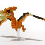 ダイソーの『プテラノドン(プチブロック)』は羽が大きくてカッコイイ!