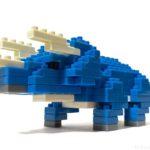 ダイソーの『トリケラトプス(プチブロック)』は迫力があってカッコイイ!