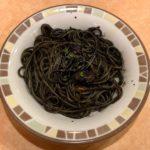 サイゼリヤの『イカの墨入りスパゲッティ』が濃厚で超おいしい!