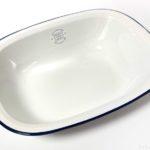 100均の横長のお皿『SAIプレートSホワイト』がシンプルなデザインで便利!