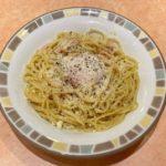 サイゼリヤのパスタ『カルボナーラ』がチーズにタマゴで胡椒がきいて超おいしい!