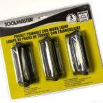 コストコの電池式ライト『TOOLMASTER ワークライト3個セット』が250ルーメンで明るい!