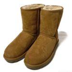 コストコのムートンブーツ『COZIE STEPSレディース ショートブーツ(羊革)』がモコモコで温かい!
