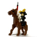 100均セリアの『戦国パーティ 第一部隊 大槍騎馬兵(KidsBlock)』が馬にのってカッコイイ!