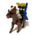 100均セリアの『戦国パーティ 第二部隊 弓騎馬兵(KidsBlock)』が馬と弓でカッコイイ!