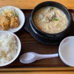 大阪王将の『白湯餃子鍋』が麺とスープに餃子と野菜で超おいしい!