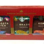 コストコの『スターバックス プレミアムセレクトコレクション』がケニア、コスタリカ、ブラジルの3種類セット!