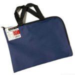100均の『L型ファスナーケースハンドルタイプ B5』が小さなバッグで便利!