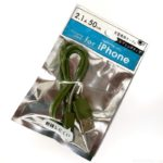 100均の『iPhone充電専用ケーブル スプリングタイプ』がオシャレで断線しにくい加工で便利!