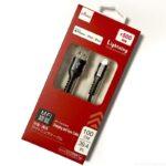 ダイソーでMFI認証の500円iPhoneケーブル『充電・通信ライトニングケーブル』がお得!