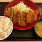 かつやの『ヒレカツ定食』がサクサクのヒレカツにご飯と豚汁付きで超おいしい!