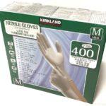 コストコで『カークランド ニトリル手袋 200枚×2箱』がたっぷり入ってピッタリフィット!