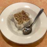 サイゼリヤの季節限定『カプチーノ(アイスケーキ)』がコーヒー牛乳のような美味しさ!