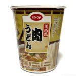コープのカップ麺『関西風 肉うどん』がダシと肉とネギで超おいしい!