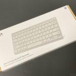 アンカーの『Anker ウルトラスリム Bluetooth ワイヤレスキーボード』がUSキーボードで使いやすい!