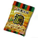 天乃屋の『ぷち歌舞伎揚 濃厚コーンバター味』が甘いお菓子の味で斬新!