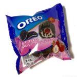 オランジェの『オレオ クッキー ストロベリークリームのシュークリーム』が甘酸っぱくて超おいしい!
