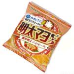 山芳製菓の『ポテトチップス 明太マヨビーフ(かねふく明太子パウダー)』がピリッとマイルドで超おいしい!