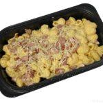 コストコの『ベーコンマック&チーズ』がマカロニのカルボナーラで超おいしい!