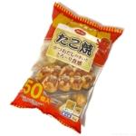 コープの冷凍『たこ焼 50個入』がたっぷり入って超おいしい!
