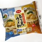 コープの冷凍食品『とり天うどん』が電子レンジで完成で超おいしい!