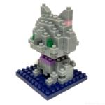 100均の『となりのねこ(はいねこ)』が灰色の猫ブロックで可愛い!