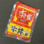 すき家の『牛丼の具 並盛 135g』が電子レンジで簡単で美味しい!