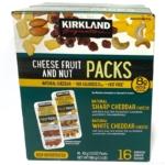コストコの『カークランド チーズ フルーツ ナッツ スナックパック』が超おいしい!