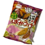 栗山米菓の『ばかうけ 大学いも味』お芋の香りの醤油せんべいで美味しい!