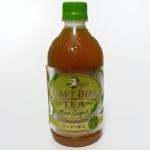 サントリーの『クラフトボスTEA ノンシュガー』がお茶の甘みで美味しい!