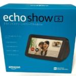 Amazonの画面付きアレクサ『EchoShow5スマートディスプレイ with Alexa(チャコール)』が便利!