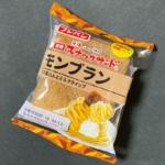フジパンの『黒糖スナックサンド モンブラン』がホイップと栗でスイーツ風!