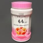 カインズの『薬用入浴剤 800g ももの香り』が赤いにごり湯で心地いい!