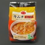 コープの『キムチスープ5食入』がピリ辛で具材入りフリーズドライで超おいしい!