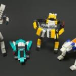 ダイソーの『ROBOT BUILDER'S Type1〜4』プチブロックまとめ!