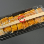スシローの持ち帰り『上穴子の押し寿司』が柔らか穴子に三つ葉と甘いタレで超おいしい!