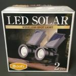 コストコの『DAIS LEDソーラークリップライト15ルーメン2個セット』が太陽光充電で超便利!
