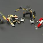 ダイソーの『ROBOT BUILDER'S Type5〜8』プチブロックまとめ!