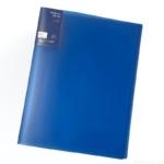 セリアの『ダブルインファイル10P(青)』がシンプルな見た目と使いやすさで便利!