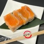 スシローの『匠の鱒の介 押し寿司(ハーフ)』がゴマ・大葉・ガリが入って超おいしい!