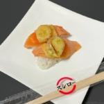 スシローの『sushiサーモンマルゲリータ』がトマトが乗ってイタリア風で超おいしい!